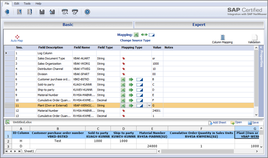 va01 step by step creating a sales order with reference