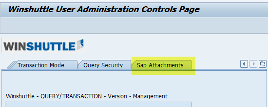 SAP attachments