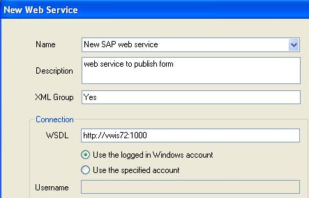 Calling Web services from workflows and form events