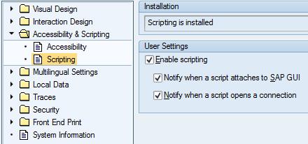 Enable GUI scripting